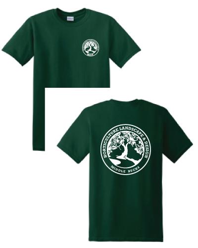 Horticulture Landscape and Design Green T-Shirt - Horticulture Landscape And Design Green T-Shirt – MBIT School Store
