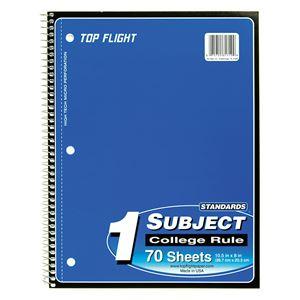 1-Subject Spiral Notebook